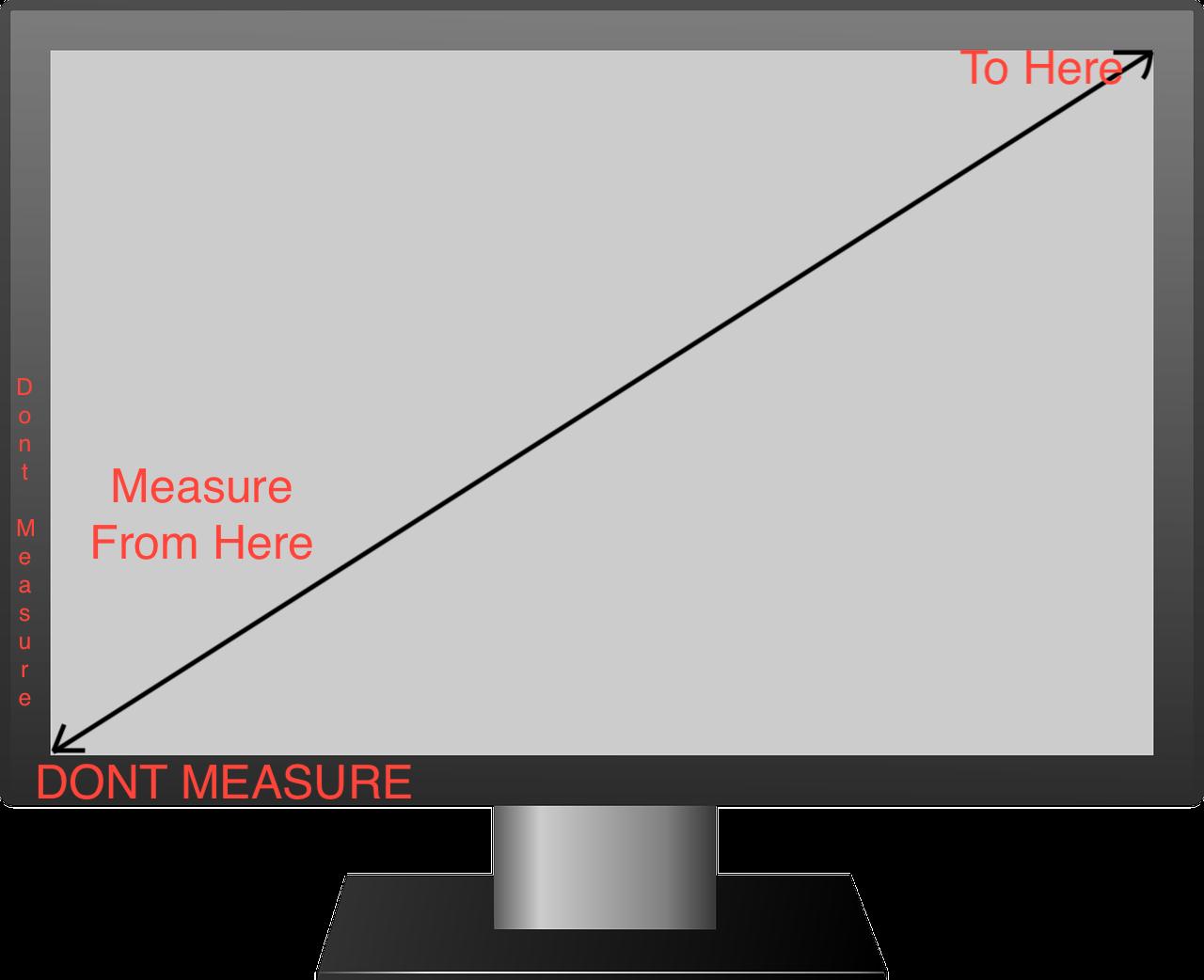 Measure TV Size